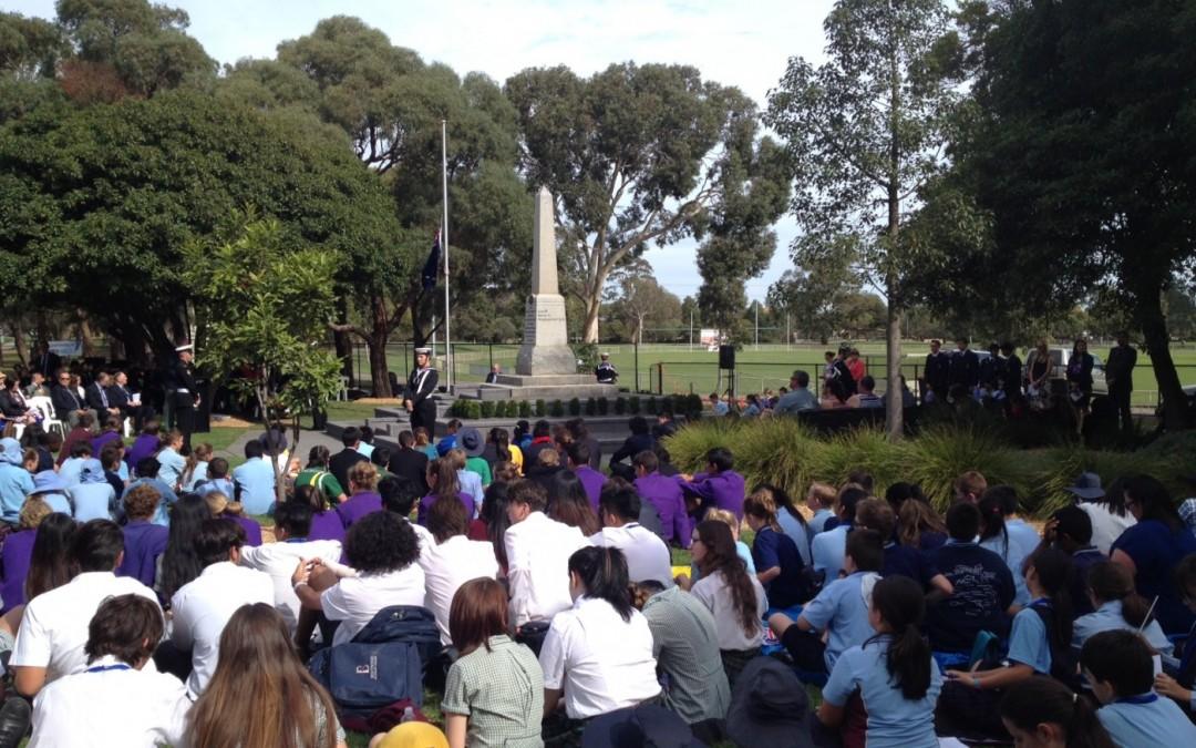 Monash Schools ANZAC Service 2016