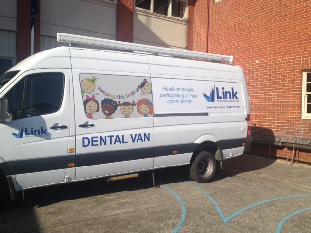 Link Dental Van at APPS