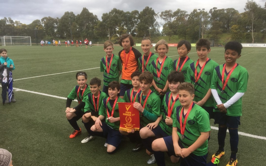 Victorian Primary School Soccer – Runner Up 2017